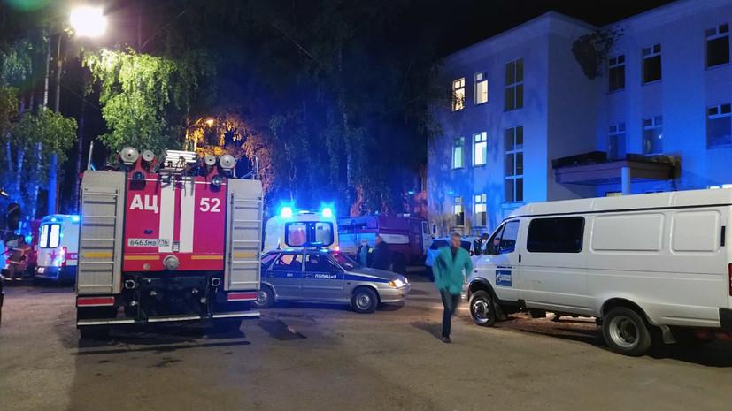 Уголовное дело возбуждено после пожара в больнице в Зеленодольске