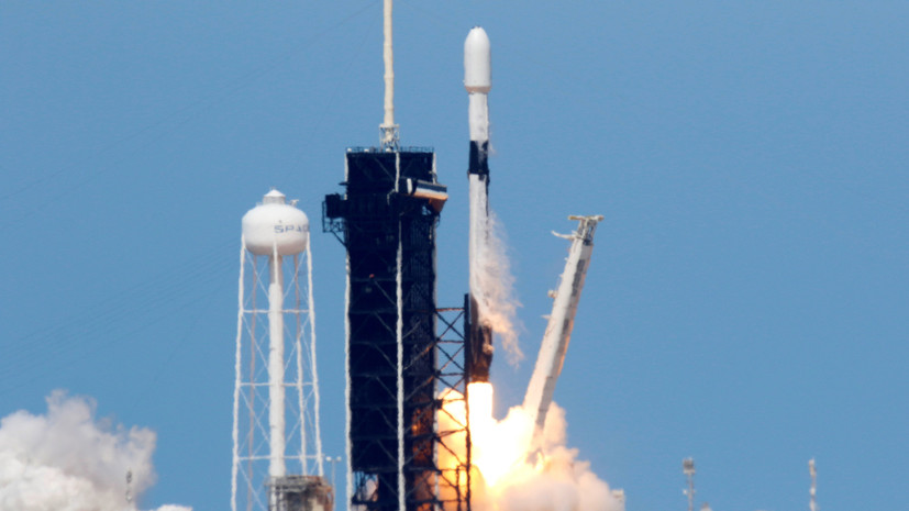 SpaceX провела успешное испытание ракеты Falcon 9
