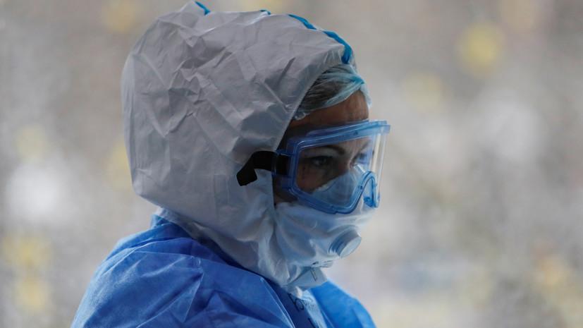 В Буйнакске развёрнут полевой госпиталь для пациентов с коронавирусом