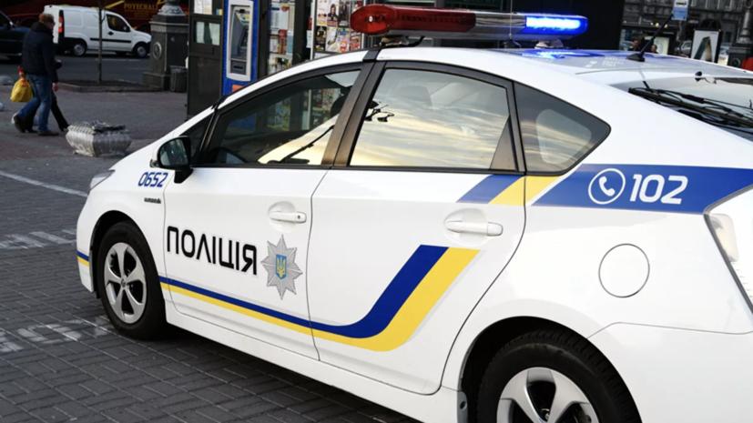 Полиция Киева рассказала детали инцидента возле офиса Медведчука