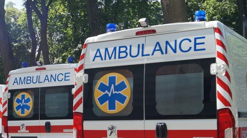 Один человек пострадал при нападении возле офиса Медведчука в Киеве
