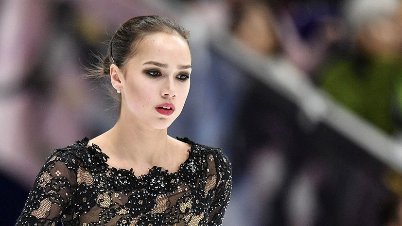 Загитова начнёт тренировки в Новогорске позже остальных фигуристов сборной России