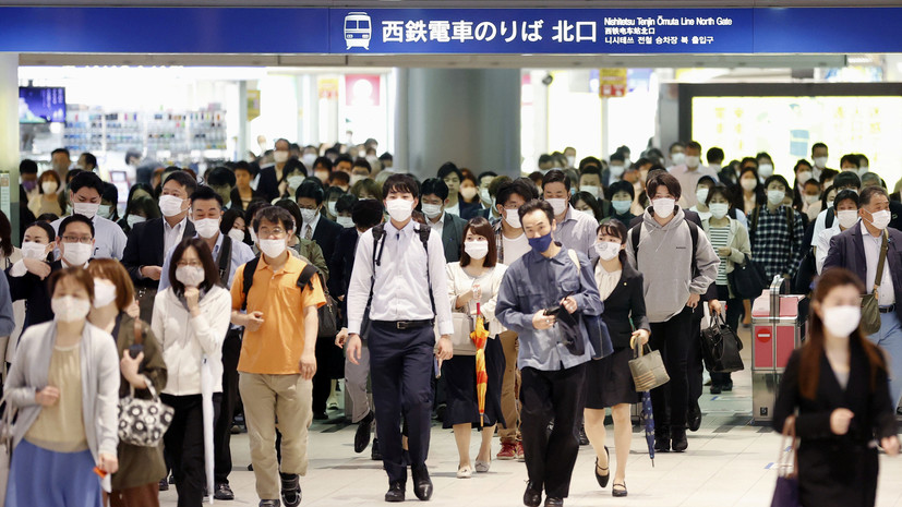 В Японии отменили введённый из-за коронавируса режим ЧС