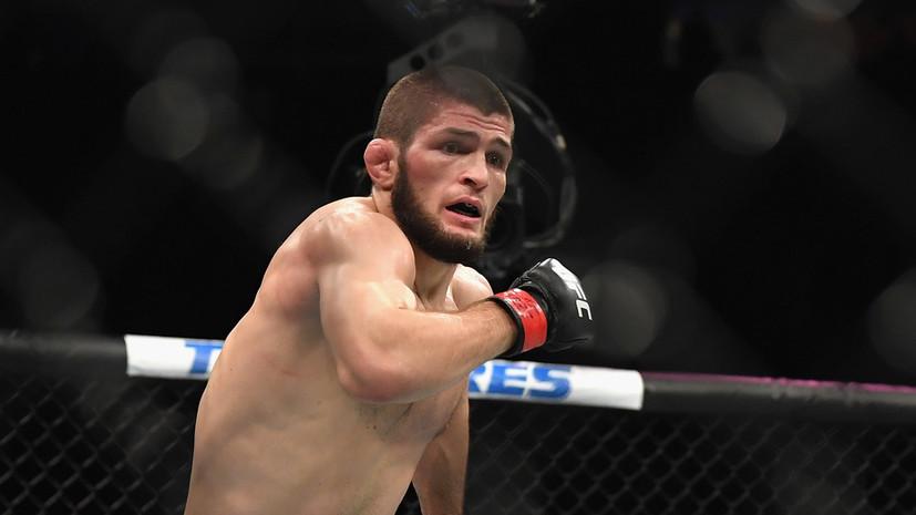Нурмагомедов вспомнил, как установил рекорд тейкдаунов в UFC