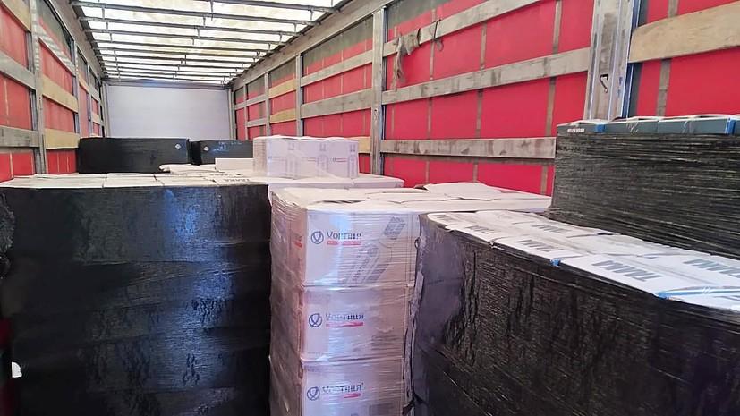 В Калининградской области таможенники изъяли 38 тонн контрафактного алкоголя