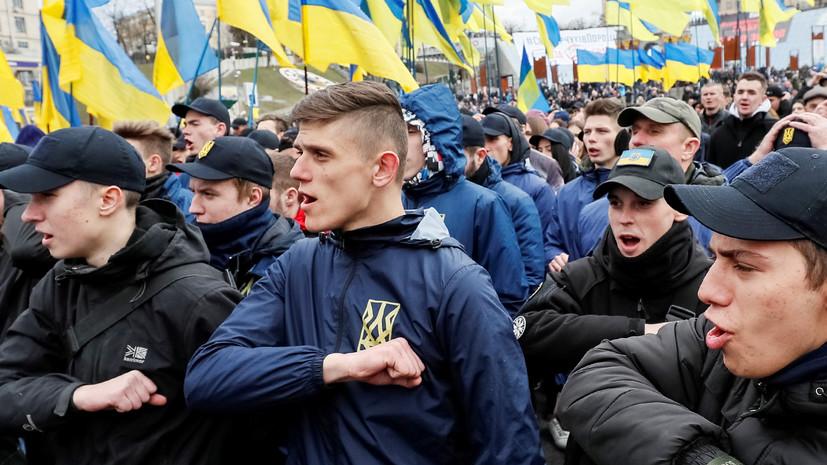 Радикальный метод: будет ли осуждено на Украине использование символики дивизии СС «Галичина»