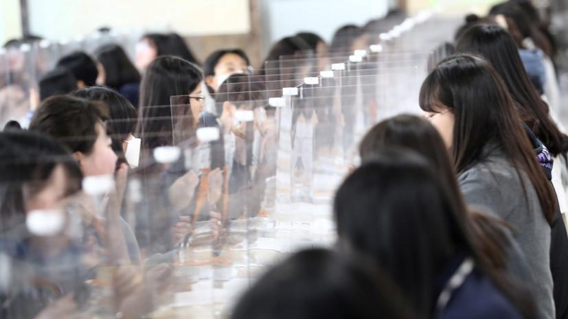За сутки в Южной Корее выявили 40 случаев инфицирования коронавирусом