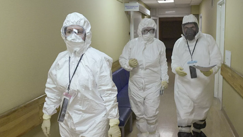 В России за сутки выявлено 8338 новых случаев коронавируса