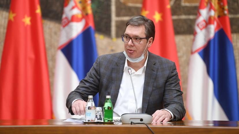 Президент Сербии посетит парад Победы в Москве