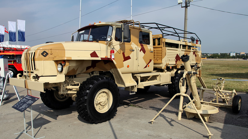 «Кочующий» миномёт: на что способен модернизированный артиллерийский комплекс «Сани»