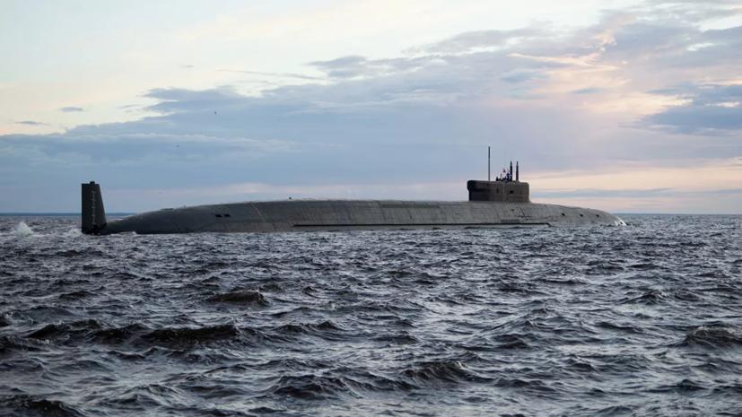 Новейшую атомную подлодку «Князь Владимир» передали ВМФ