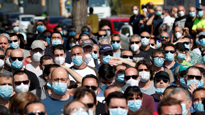 ВОЗ: число жертв коронавируса в мире превысило 350 тысяч