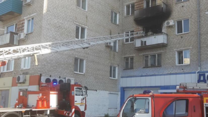 В жилом доме в Хабаровском крае произошёл хлопок газа