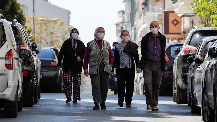 За сутки в Турции выявили 1141 новый случай коронавируса