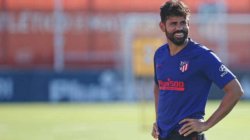 СМИ: Футболисту «Атлетико» Диего Косте грозит полгода тюрьмы
