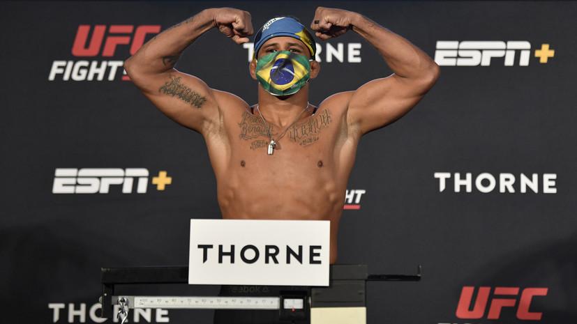 Вудли и Бёрнс показали одинаковый вес перед турниром UFC on ESPN 9