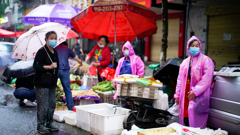В КНР опровергли версию о происхождении коронавируса на рынке в Ухани
