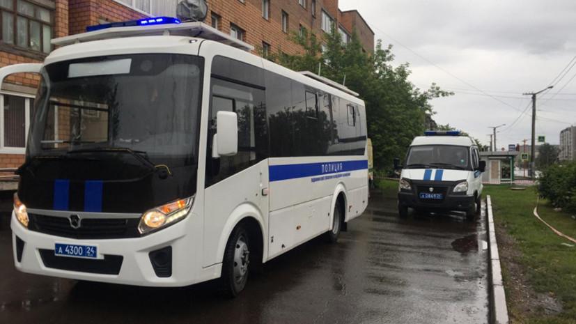 В Красноярске произошло нападение на инкассаторов