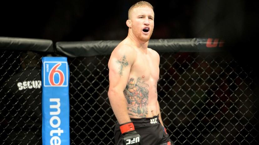 Гэтжи готов уйти из UFC, если победит Нурмагомедова, Макгрегора и Порье