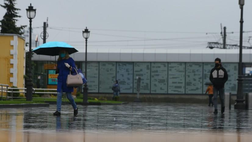 Росгидромет выпустил штормовое предупреждениe для московского региона