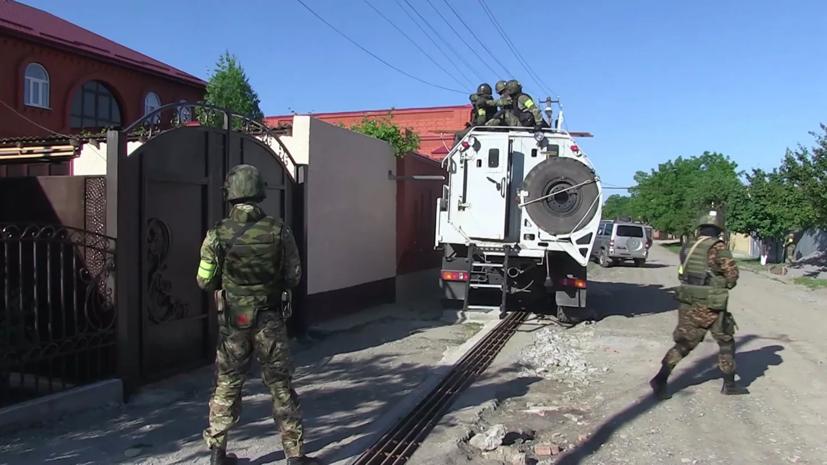 В Сунже в ходе КТО блокировали группу бандитов