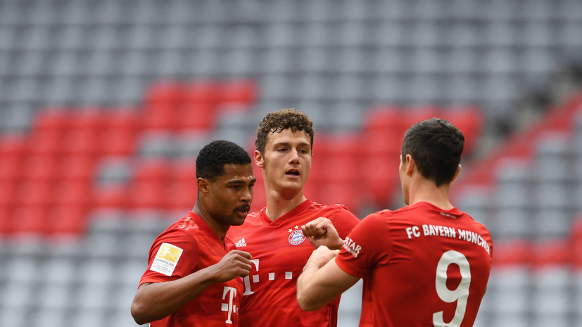 «Бавария» обновила рекорд результативности в Бундеслиге