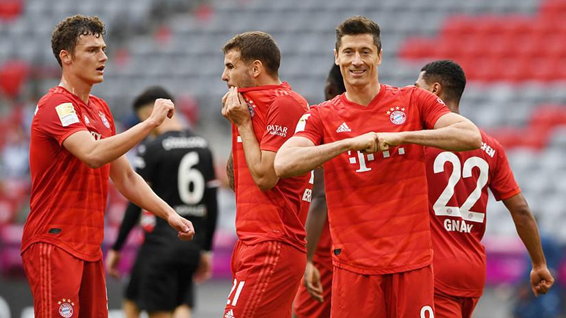 Дубль Левандовски и красивый гол Хаверца: чем запомнились матчи 29-го тура Бундеслиги