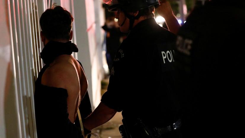 В ходе протестов в Индианаполисе погиб один человек