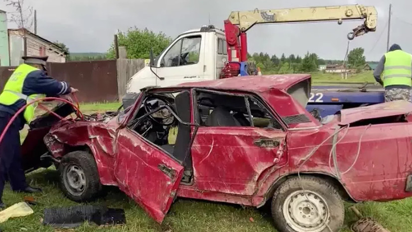 МВД возбудило дело после ДТП под Красноярском с тремя погибшими