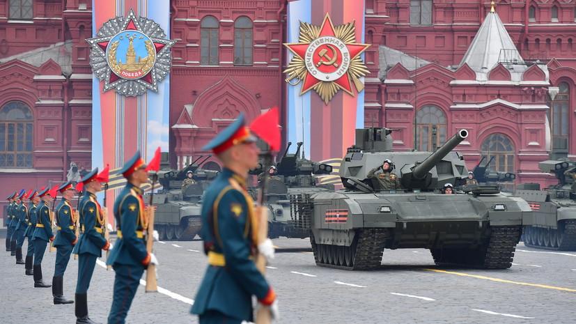 Путин и гости будут на трибуне во время парада Победы в Москве