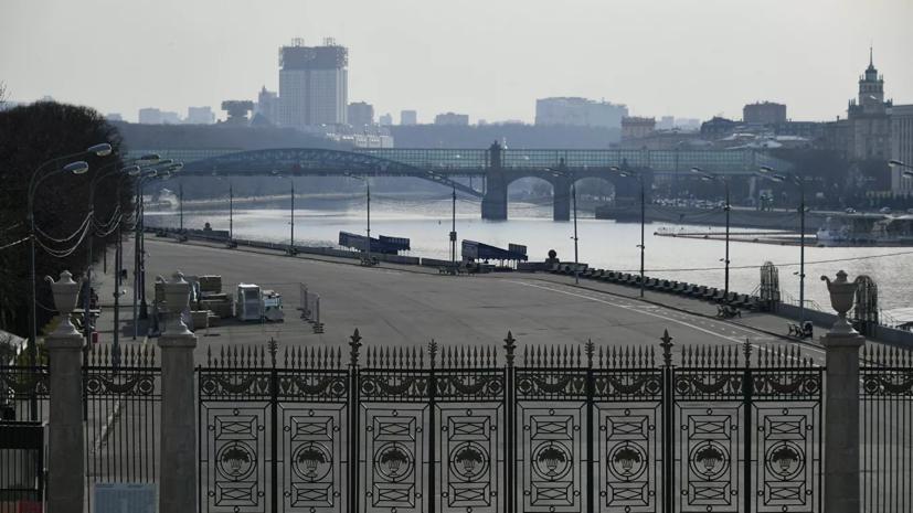 В московских парках нанесли разметку для социальной дистанции