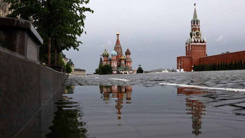 В Москве с 29 мая выпало 185% месячной нормы осадков