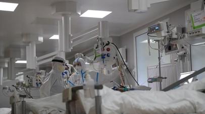 Отделение COVID-госпиталя МГУ