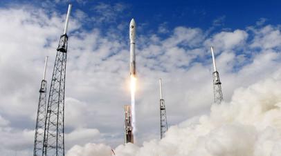 Запуск ракеты United Launch Alliance Atlas 5 с экспериментальным космическим самолётом США X-37B