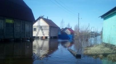 В Вельском районе Архангельской области ввели режим ЧС из-за паводка