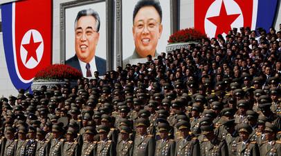 Высокопоставленные северокорейские военные