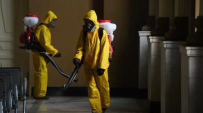 МЧС сообщило о дезинфекции социально значимых объектов в России
