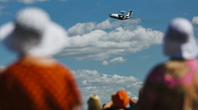 Самолет дальнего радиолокационного обнаружения и управления ДРЛОиУ А-50У