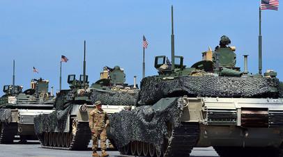 Учения Strong Europe Tank Challenge 2017