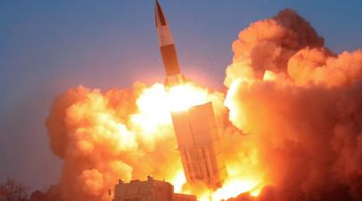 Ракетный пуск КНДР