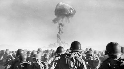 Испытания ядерного оружия под Лас-Вегасом в 1950-х годах
