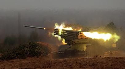 Боевая машина БМ-21 реактивной системы «Град»