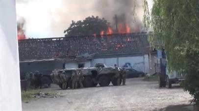 В Ингушетии в ходе КТО ликвидированы два боевика — видео
