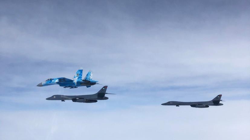 В Генштабе рассказали об активизации полётов ВВС США у границ России