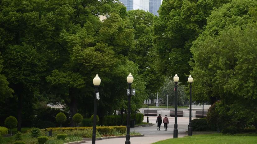 Появилась карта загруженности парков и мест отдыха в Москве