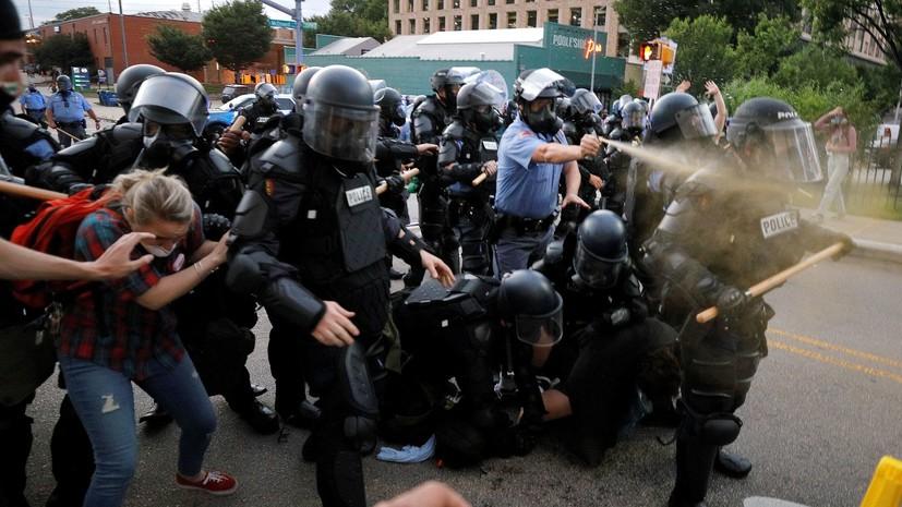 Власти США направят дополнительные силы для подавления беспорядков