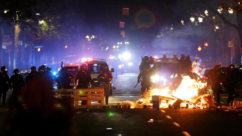 Россиян нет среди пострадавших в результате беспорядков в США