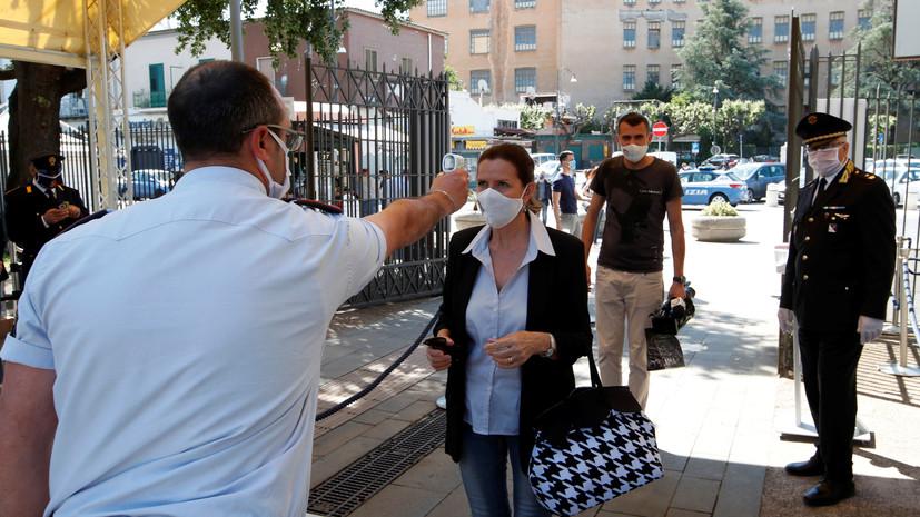 В Италии за сутки скончались 60 человек с коронавирусом