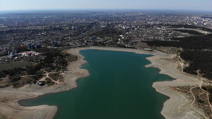 В Крыму рассказали об объёмах воды в водохранилищах региона