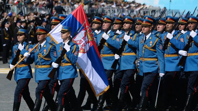 В параде Победы в Москве примут участие 75 солдат и офицеров из Сербии